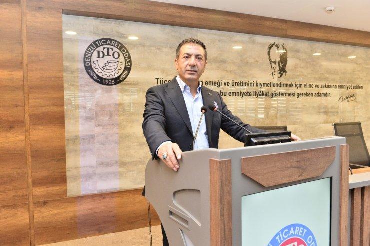 """DTO Başkanı Erdoğan; """"Kolları sıvayalım, aşımızı olalım"""""""