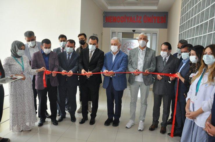 Digor Devlet Hastanesi'nde Hemodiyaliz Ünitesi'nin açılışı yapıldı