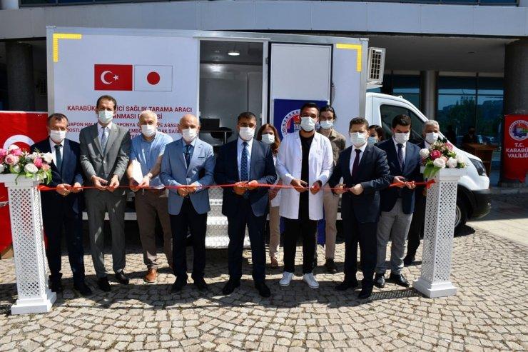 Japon hibe desteği ile alınan 'Gezici Sağlık Tarama Aracı' hizmete alındı