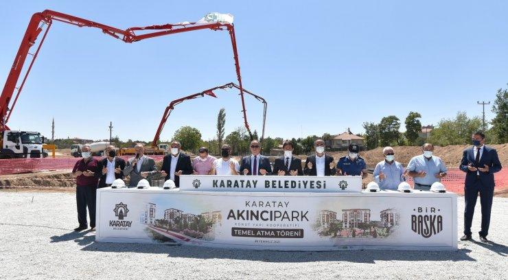Karatay Belediyesi'nden yeni toplu konut hamlesi
