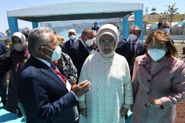 Başkan Büyükkılıç, Ankara'da Emine Erdoğan ve Bakan Pakdemirli ile görüştü