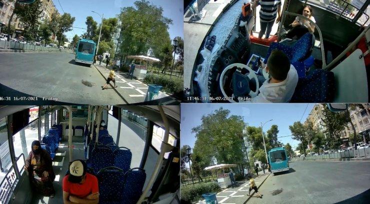Fenalaşan yolcuyu otobüs şoförü hastaneye yetiştirdi