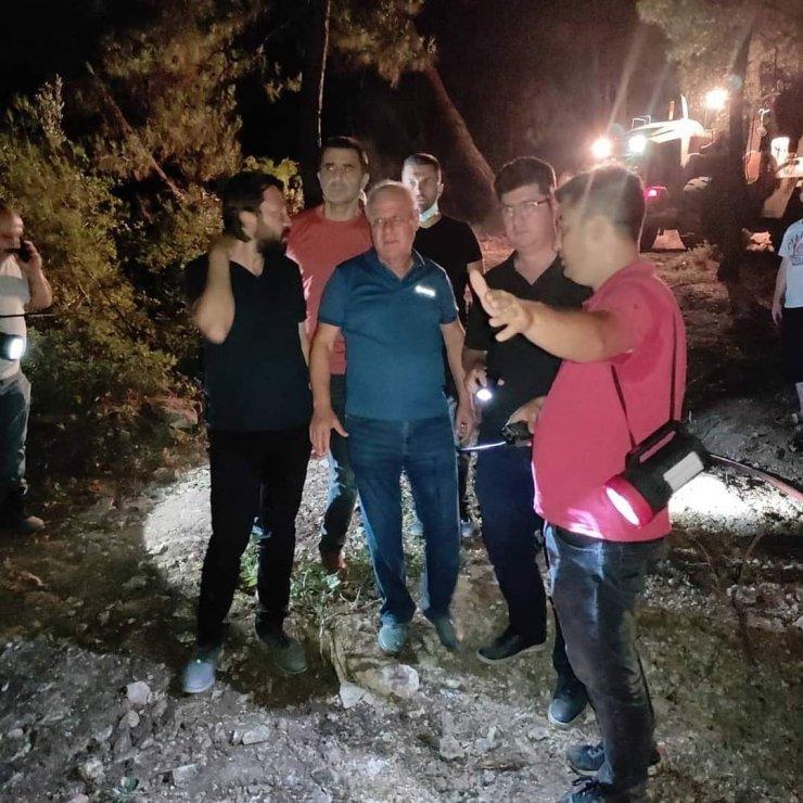 Başkan Tulup'tan orman yangını açıklaması
