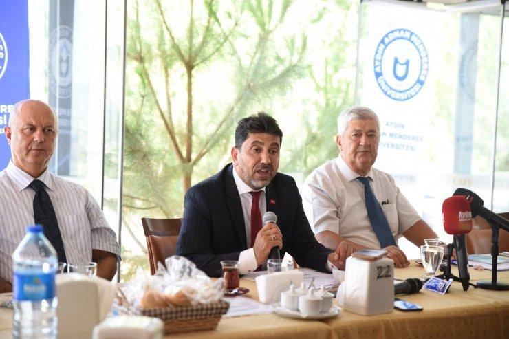 Üniversite öğrenci adaylarına Rektör Aldemir'den davet