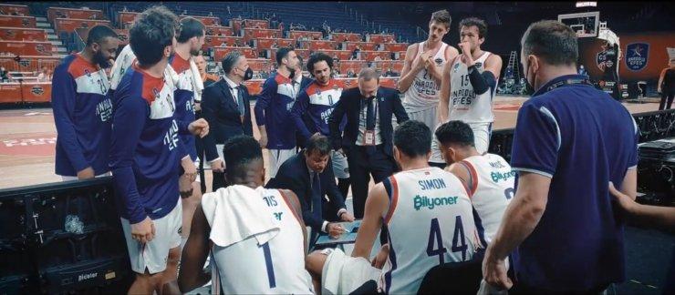 Anadolu Efes'in, Köln'de Bir Asma Kilit filminin üçüncü bölümü, yarı finaldeki CSKA Moskova maçına odaklanacak