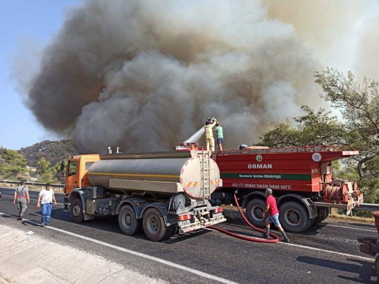 Muğla'da 2 yangın daha çıktı, devam eden yangın sayısı 5'e yükseldi