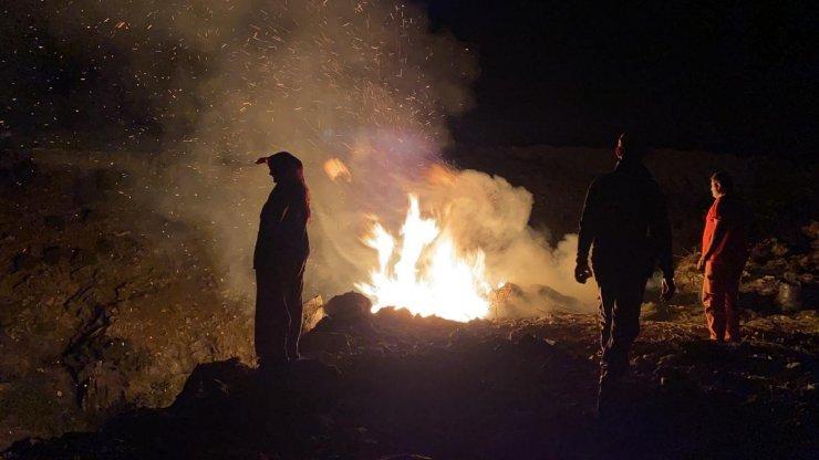 Bursa'da korkutan çalılık yangını