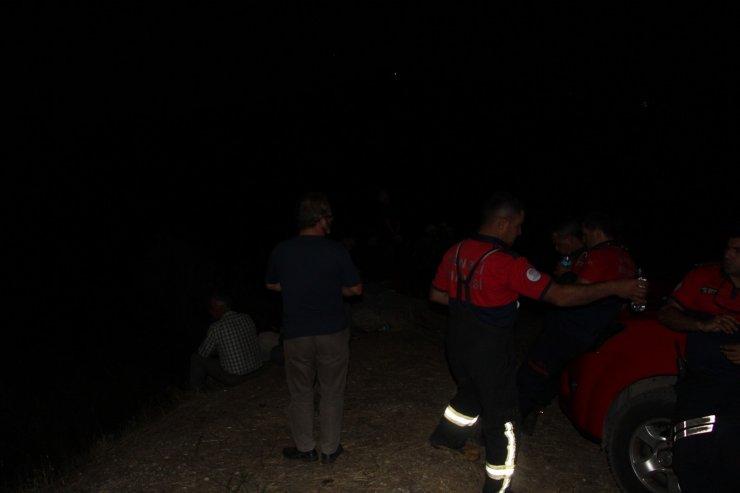 2 kez söndürülen orman yangını 3. kez kontrol altına alındı