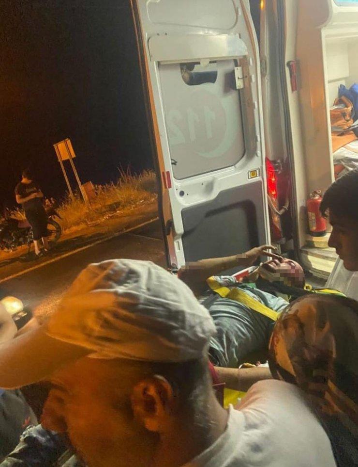 Minibüs motosiklete çarptı, 2 kişi hayatını kaybetti