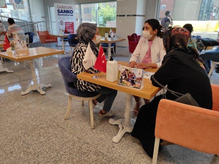 Sanko Üniversitesi Tanıtım Günleri yoğun ilgi görüyor