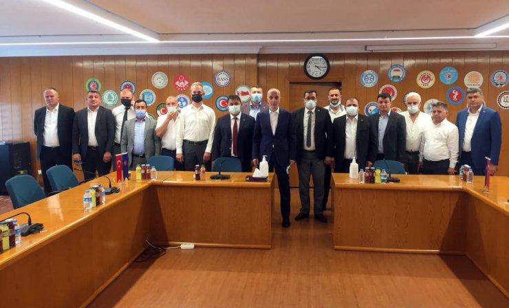 GMİS, Bakan Bilgin ve Türk-İş Başkanı Atalay'ı ziyaret etti