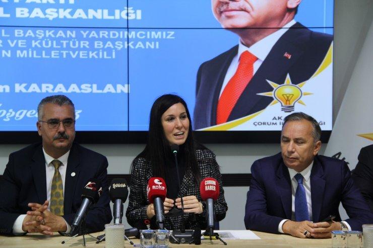 """AK Parti Genel Başkan Yardımcısı Karaaslan: """"Ekonomik verilerdeki başarı en kısa zamanda vatandaşa yansıyacak"""""""