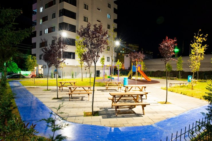 Akçaabat'ta her mahalleye bir park