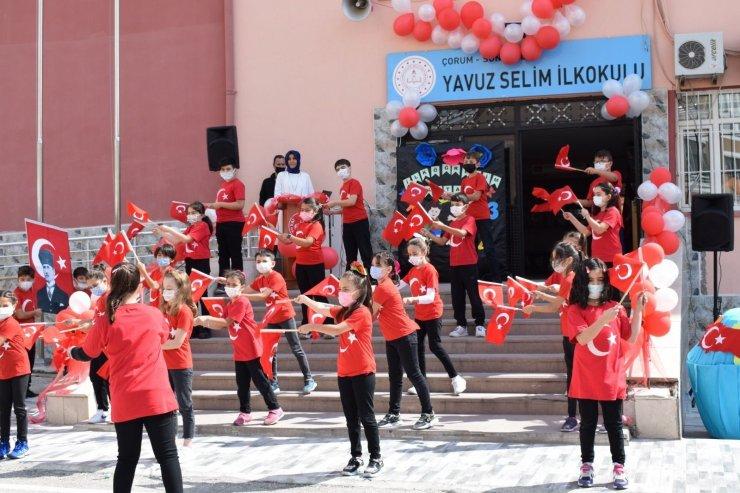 Sungurlu'da ilköğretim haftası kutlamaları