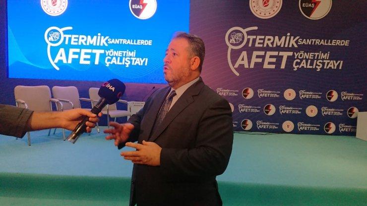 """EÜAŞ Genel Müdürü Alagöz: """"Santrallerimiz içerisinde hidrojeni de kullanmaya devam edeceğiz"""""""