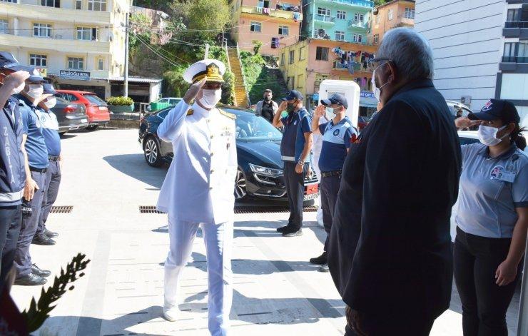 Tuğamiral Uğur, Başkan Posbıyık ile görüştü