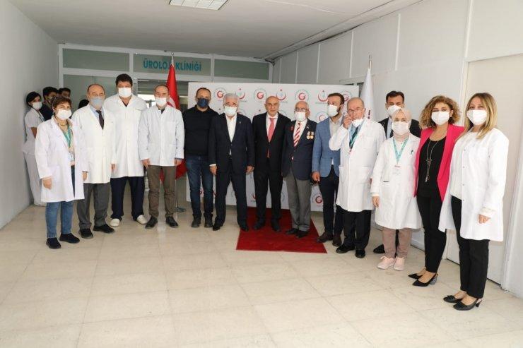 Keçiören Belediyesi'nin yenilediği GATA Üroloji Kliniği açıldı