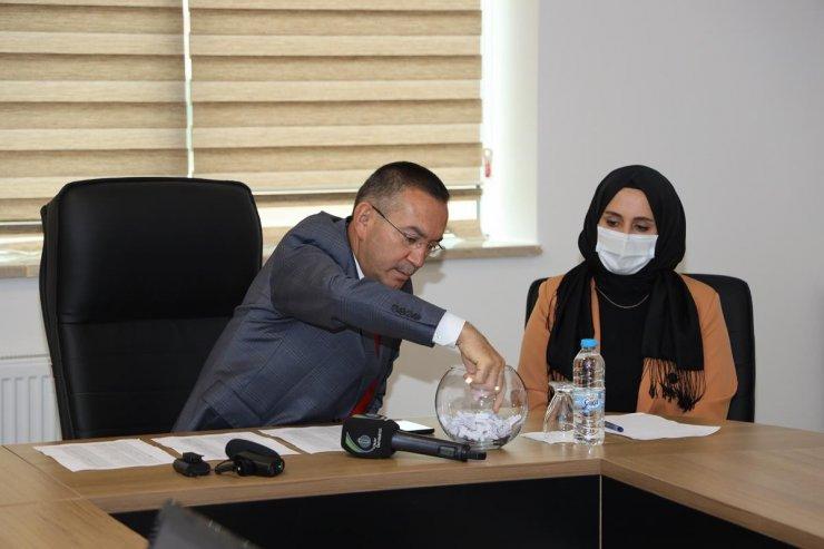 Ordu'da kız öğrenci yurdu için kura çekimi canlı yayınlandı