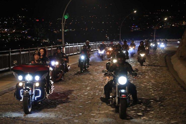 Seyir Tepesinde motorcu rüzgarı esti