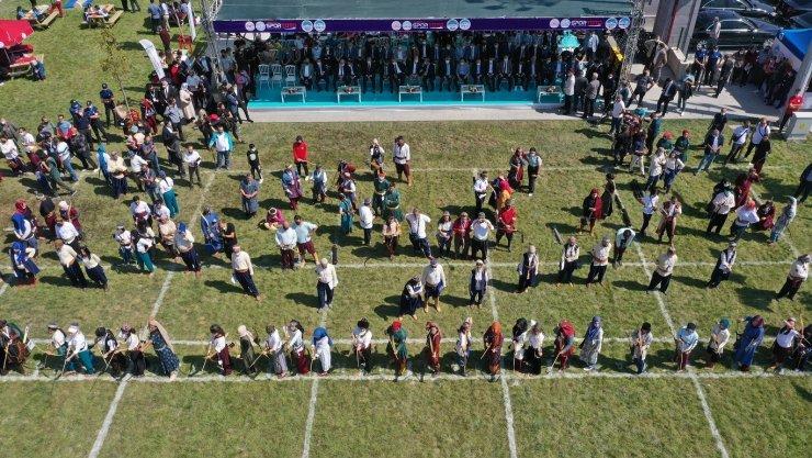 Geleneksel Sporlar, Binicilik ve Okçuluk Tesisi'ne muhteşem açılış