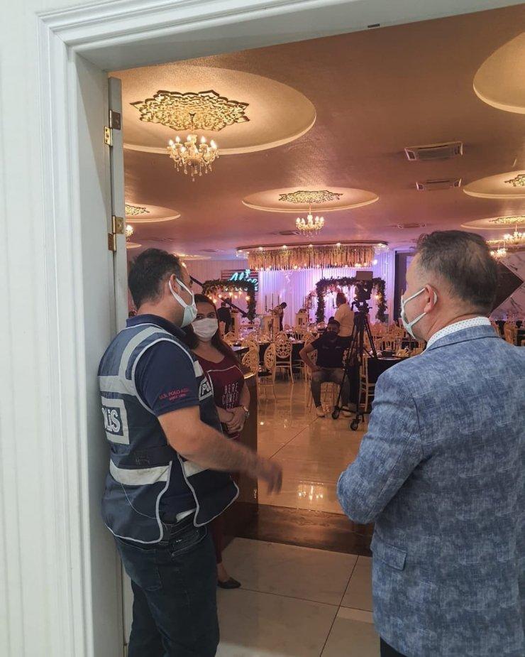 Kayseri'de koronavirüs denetimleri sürüyor