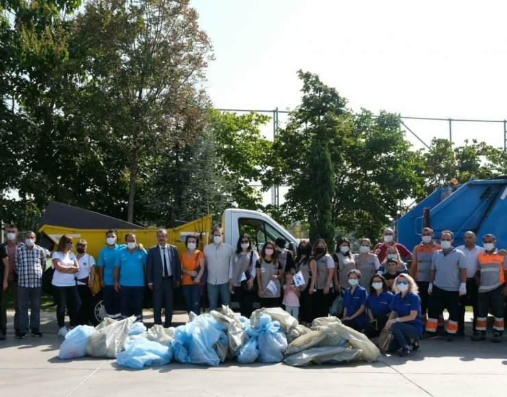 Dünya Temizlik Günü'nde Maltepe'de temizlik seferberliği
