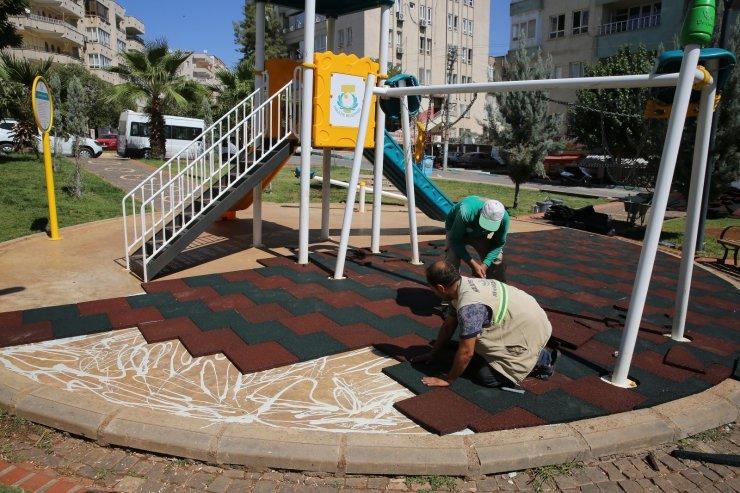 Haliliye'de 4 ayrı mahallede park yapımı