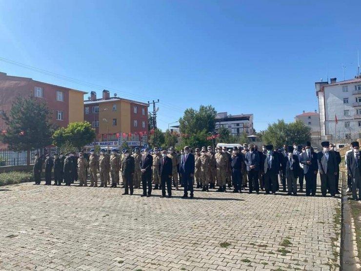 Çaldıran'da '19 Eylül Gaziler Günü' törenle kutlandı
