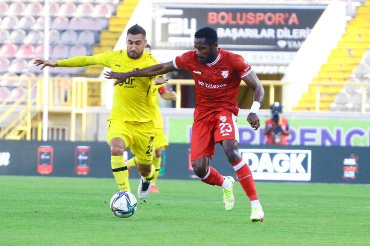 TFF 1. Lig: Boluspor: 1 - İstanbulspor: 1
