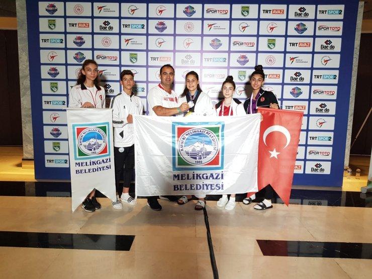 Melikgazi Belediyesi Spor Kulübü'nden bir başarı daha