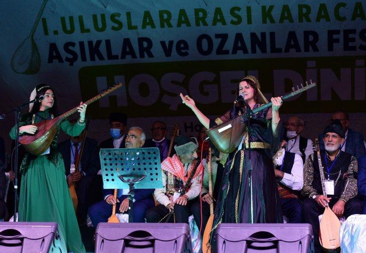 Kahramanmaraş'ta Uluslararası Karacaoğlan Aşıklar ve Ozanlar Festivali