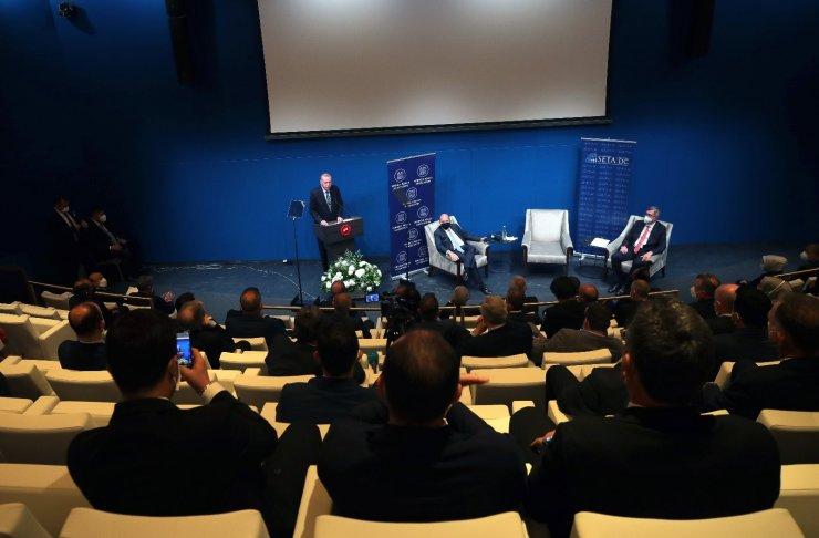 Cumhurbaşkanı Erdoğan, Foreign Policy Association ve SETA DC tarafından düzenlenen programa katıldı