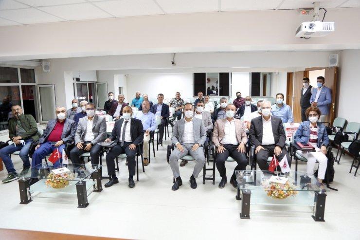 Niğde Belediye Başkanı Özdemir, sanayicilere projelerini anlattı
