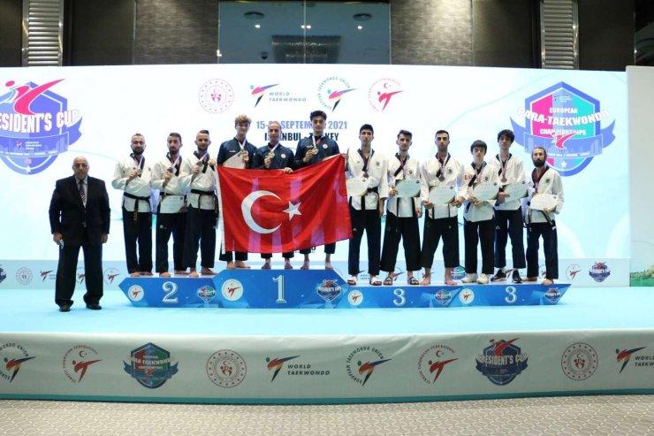 Başkanlık Kupası'nda son gün 37 madalya