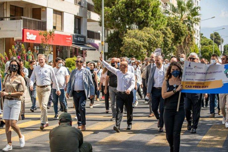 İzmir'de Otomobilsiz Kent Günü etkinlikleri