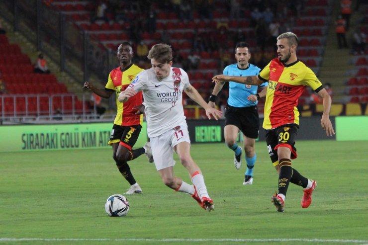 Süper Lig: Göztepe: 0 - Hatayspor: 1 (İlk yarı)