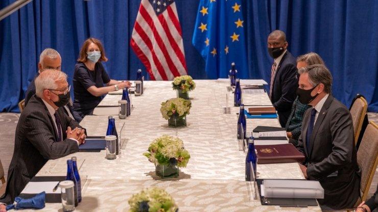 ABD Dışişleri Bakanı Blinken, AB Yüksek Temsilcisi Borrell ile bir araya geldi