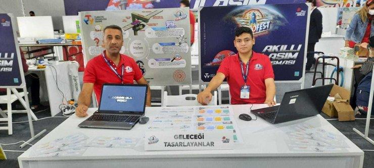 Bozdoğan İsmet Sezgin MTAL, Teknofest'te Aydın'ı temsil ediyor