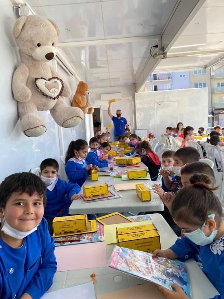 Gezici Motivasyon ve Eğitim Tırı, Denizlili çocuklarla buluştu