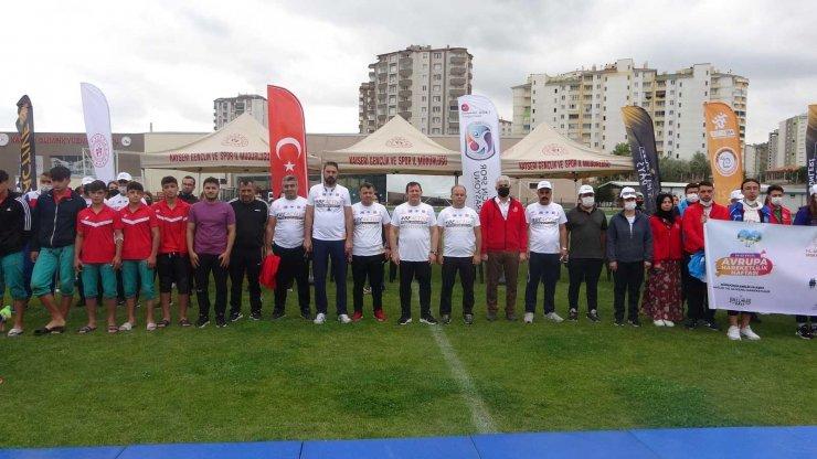 Avrupa Spor Haftası etkinlikleri Kayseri'de başladı