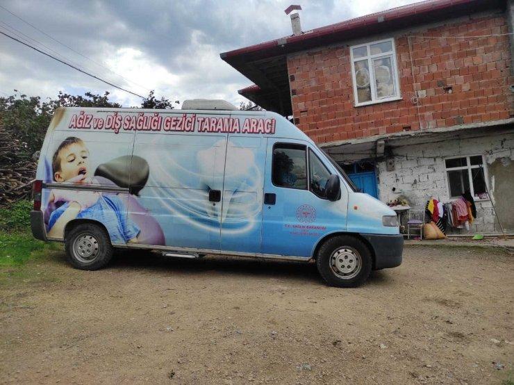 Mobil ağız ve diş sağlığı hizmeti yüz güldürüyor