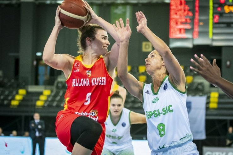 Bellona Kayseri Basketbol elendi