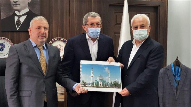 Selçuklu mimarisiyle yapılacak Merkez Camii için 50 milyon TL harcanacak