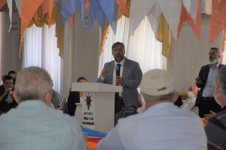 AK Partili Cemal Bekle'den Urla'ya bin konut müjdesi