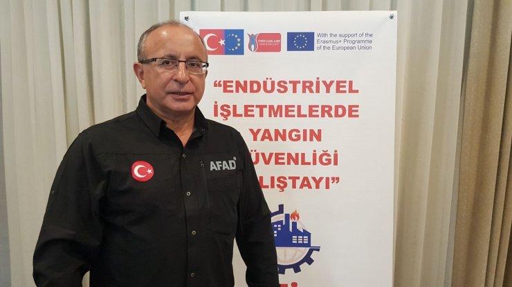 Karabük'te 'Endüstriyel İşletmelerde Yangın Güvenliği Çalıştayı' başladı
