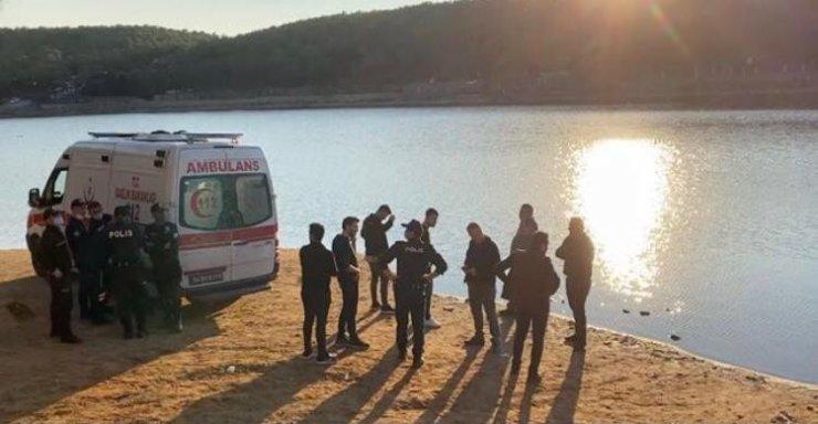 Sancaktepe'de gölde kaybolan kişiyi arama çalışmalarına ara verildi