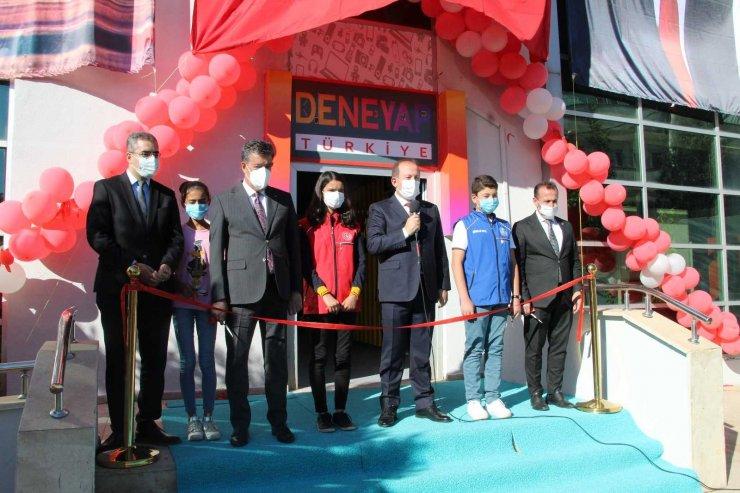 """Şırnak'ta """"Deneyap Teknoloji Atölyesi'nin açılışı yapıldı"""