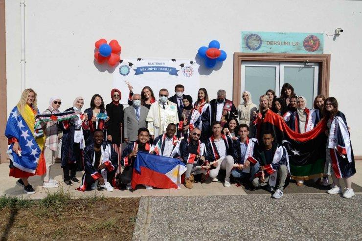 Misafir öğrenciler Türkçe eğitimlerini başarıyla tamamladı
