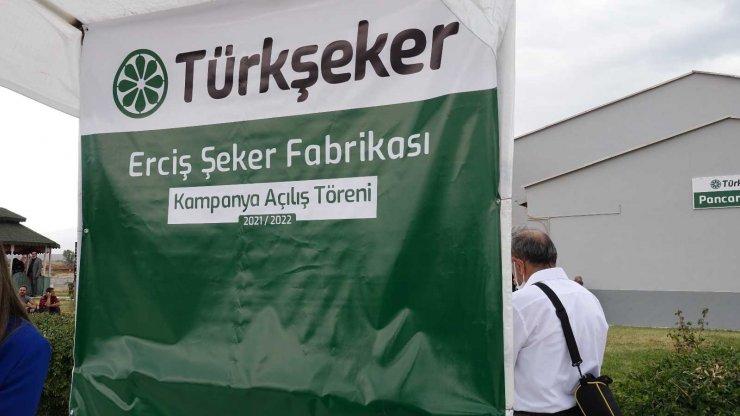 Erciş'te şeker pancarı alımı başladı