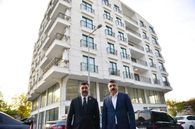 Yıldırım Belediyesi 15 daireli apartmanı ve 20 konutu öğrencilere tahsis etti
